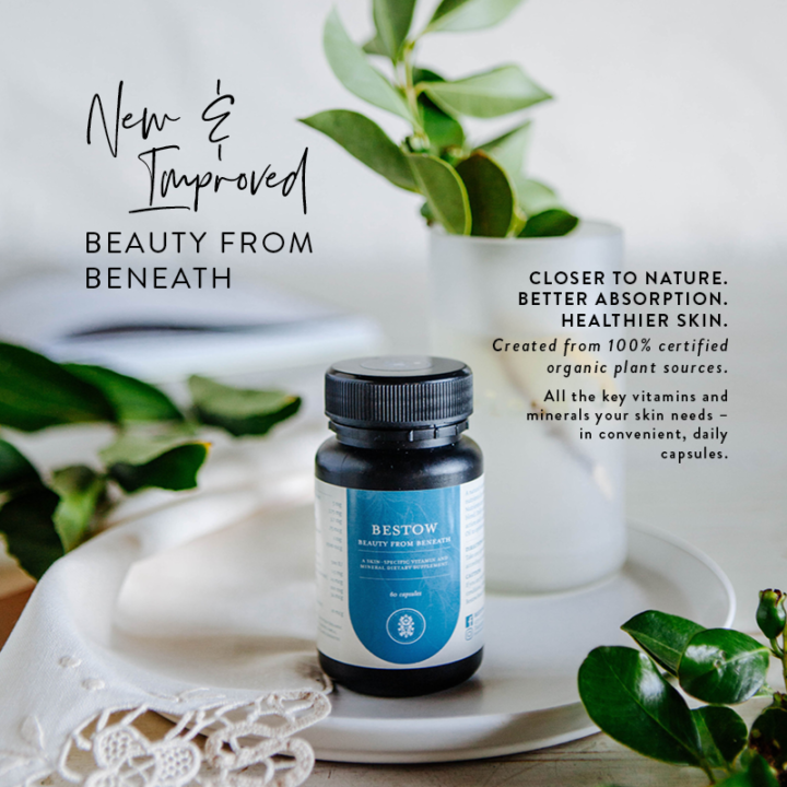 Bestow Beauty From Beneath   New and Improved Skin Supplement